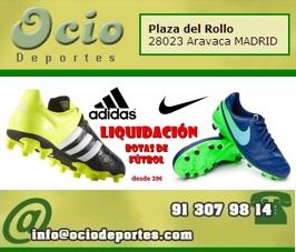 Liquidación Botas de Fútbol