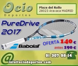 Oferta Babolat PureDrive  2017