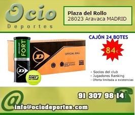 Oferta Cajón Pelotas Babolat 24 Botes 84€